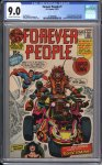 Forever People #1 CGC 9.0