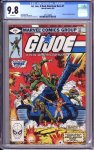 G.I. Joe, A Real American Hero #1 CGC 9.8