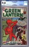 Green Lantern #13 CGC 9.0