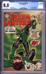 Green Lantern #59 CGC 8.0