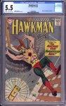 Hawkman #4 CGC 5.5