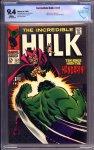 Incredible Hulk #107 CBCS 9.4