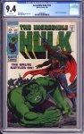 Incredible Hulk #112 CGC 9.4