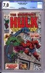 Incredible Hulk #122 CGC 7.0