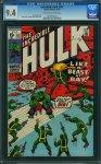 Incredible Hulk #132 CGC 9.4