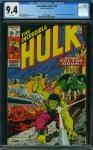 Incredible Hulk #143 CGC 9.4