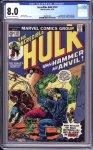 Incredible Hulk #182 CGC 8.0