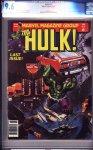 Hulk Magazine #27 CGC 9.6