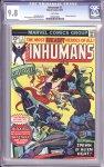Inhumans #1 CGC 9.8