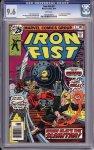 Iron Fist #5 CGC 9.6