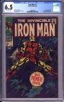Iron Man #1 CGC 6.5