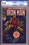 Iron Man #1 CGC 7.5