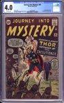 Journey into Mystery #84 CGC 4.0
