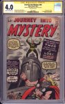 Journey into Mystery #85 CGC 4.0 SS