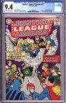 Justice League of America #21 CGC 9.4