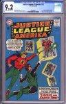 Justice League of America #22 CGC 9.2