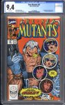 New Mutants #87 CGC 9.4