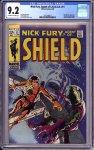 Nick Fury Agent of SHIELD #11 CGC 9.2