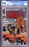 Nick Fury Agent of SHIELD #7 CGC 9.6