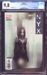 NYX #3 CGC 9.8
