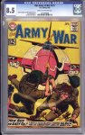 Our Army at War #121 CGC 8.5