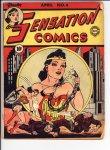 Sensation Comics #4 VG (4.0)