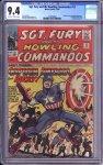 Sgt. Fury #13 CGC 9.4
