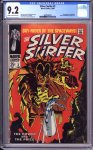 Silver Surfer #3 CGC 9.2