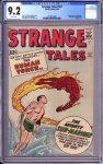 Strange Tales #107 CGC 9.2