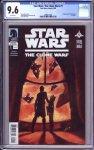 Star Wars: the Clone Wars #1 CGC 9.6