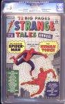 Strange Tales Annual #2 CGC 6.5