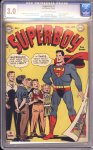 Superboy #1 CGC 3.0