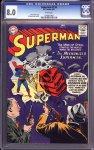 Superman #116 CGC 8.0