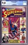 Superman Annual #2 CGC 9.0