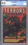 Terrors of the Jungle #4 CGC 4.0
