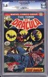 Tomb of Dracula #15 CGC 9.6