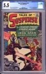 Tales of Suspense #52 CGC 5.5