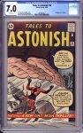 Tales to Astonish #36 CGC 7.0