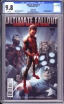 Ultimate Fallout #4 (2nd printing variant) CGC 9.8