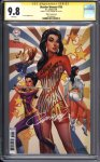 Wonder Woman #750 (J Scott Campbell 1960s variant) CBCS 9.8 Signature